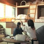 テラスハウス動画:聖南がつば冴にメイク指導・・。シオンは「○○」