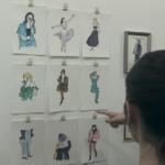 テラハ東京 15話 香織(foxco)の個展場所はどこ?